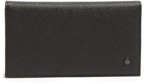 Giorgio Armani Bi-fold grained-leather wallet
