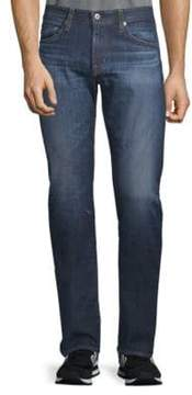 AG Adriano Goldschmied Slim-Fit Faded Jeans
