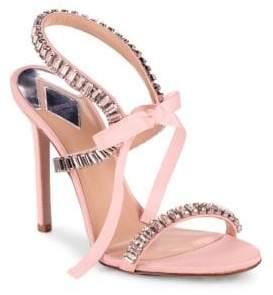 Aperlaï Inagua Embellished Tie Sandals