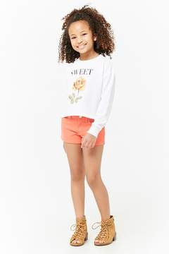 Forever 21 Girls Sweet Graphic Sweatshirt (Kids)