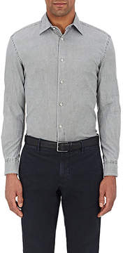 Piattelli MEN'S WASHED COTTON OXFORD CLOTH SHIRT