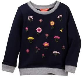 Joe Fresh Embroidered Popover (Toddler & Little Girls)