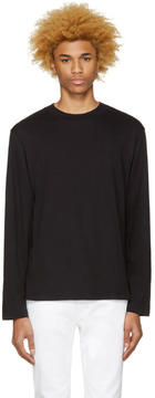 Alexander Wang Black High Neck T-Shirt