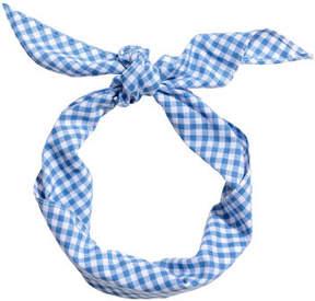 H&M Cotton Hairband - Blue