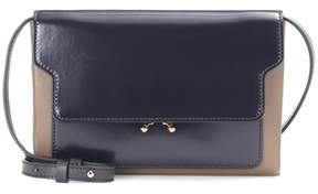 Marni Trunk leather crossbody bag