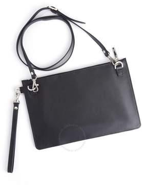 Royce Leather Royce Black RFID Blocking Cross Body Bag