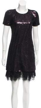 Vivienne Tam Sequin Lace Dress