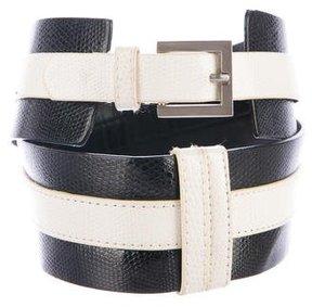 Alice + Olivia Leather Waist Belt