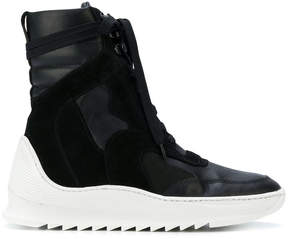 Filling Pieces lace-up hi-top sneakers