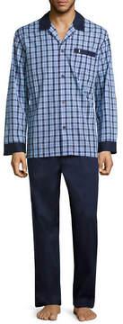Jockey Yarn Dye Woven Pajama Set