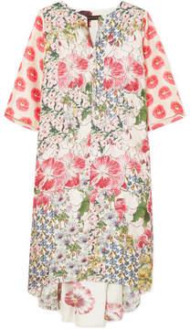 DAY Birger et Mikkelsen Biyan - Arlo Floral-print Silk-twill Dress - White