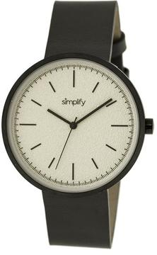 Simplify The 3000 Collection SIM3008 Unisex Watch with Leather Strap