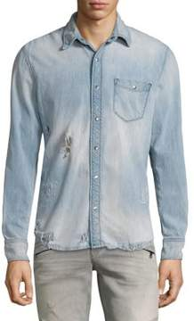 Hudson Denim Button-Down Shirt