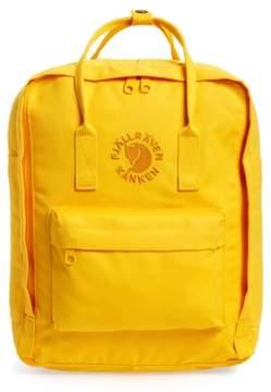 Fjallraven Re-Kanken Water Resistant Backpack - Yellow