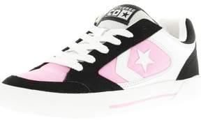 Converse Optium Ox White / Black Rose Ankle-High Fashion Sneaker - 9.5M