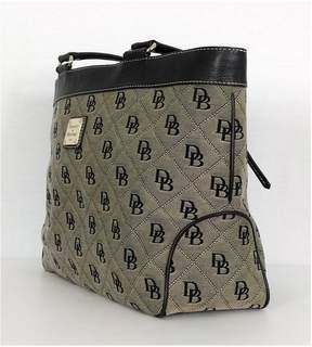 Dooney & Bourke Black Monogram Tote Bag
