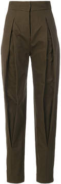 Capucci high-waisted tailored trousers