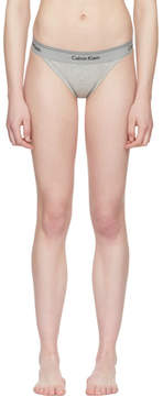 Calvin Klein Underwear Grey Heritage Athletic Tanga Briefs