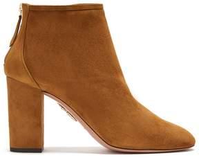 Aquazzura Downtown suede ankle boots