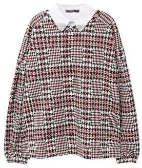Violeta BY MANGO Appliqu?? collar sweatshirt