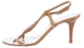 Christian Dior Charm Slingback Sandals