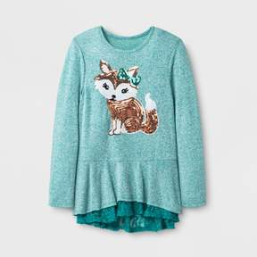 Miss Chievous Girls' Long Sleeve Top - Blue