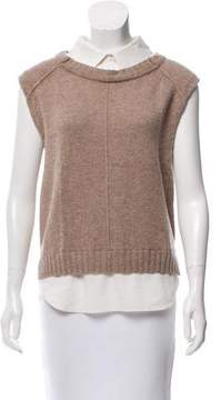 Brochu Walker Wool & Cashmere Sleeveless Top