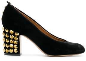 Emporio Armani studded heel pumps