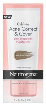 Neutrogena Oil-Free Acne Correct & Cover Medium to Tan