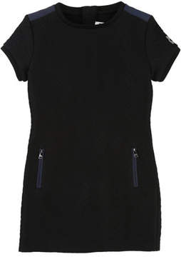 Karl Lagerfeld Quilted Dress w/ Zip Pockets, Size 12-16