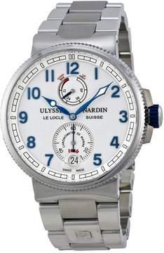 Ulysse Nardin Marine Chronometer White Dial Stainless Steel Men's Watch