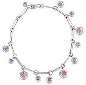 Chaumet 18K Topaz Charm Bracelet