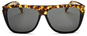 Saint Laurent SL1 Square Sunglasses, 59mm