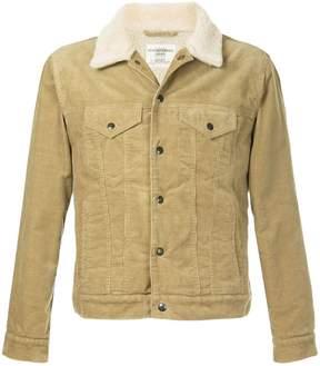 Kent & Curwen furry collar short jacket