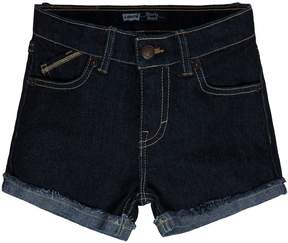 Levi's Girls 4-6x Stretch Denim Shorts
