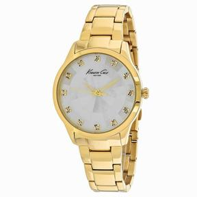 Kenneth Cole Classic KC0013 Men's Round Gold Stainless Steel Watch