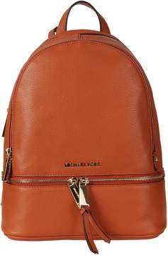 Michael Kors Plain Backpack - ORANGE - STYLE