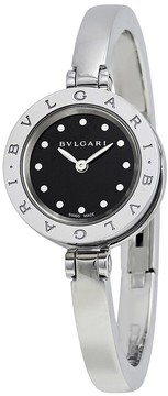 Bvlgari B.Zero1 Black Dial Stainless Steel Ladies Watch