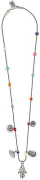 Uno de 50 Hamsa Beaded Necklace