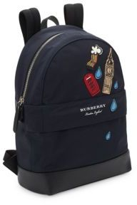 Burberry Kid's Nico London Backpack