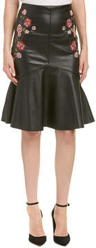 Flying Tomato Embroidered Flare Skirt