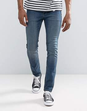 Cheap Monday Tight Skinny Jeans Steel Blue