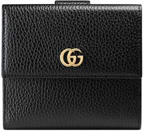 Gucci Leather french flap wallet - BLACK LEATHER - STYLE
