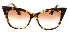 Dita Tortoiseshell Cat-Eye Sunglasses