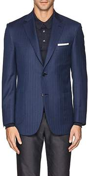Brioni Men's Ravello Wool Two-Button Sportcoat