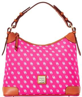 Dooney & Bourke Gretta Hobo Shoulder Bag - FUCHSIA - STYLE