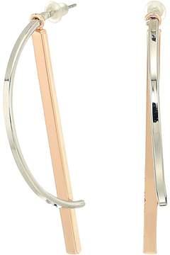 GUESS Hoop/Stick Combo Earrings Earring