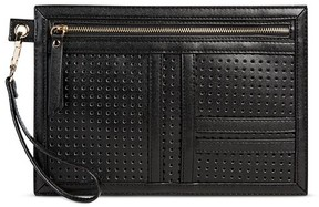 Mossimo Supply Co. Women's Black Laser Cut Pouch - Mossimo Supply Co.