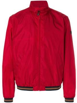 Fay Men's Red Polyamide Outerwear Jacket.