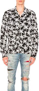 Amiri Palm Print Shirt